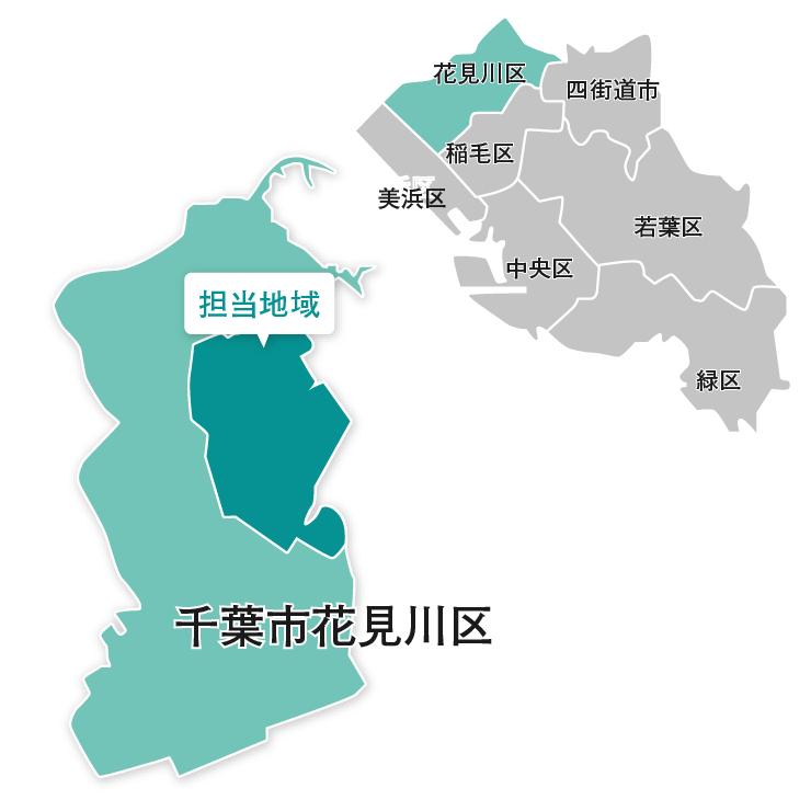 千葉市map